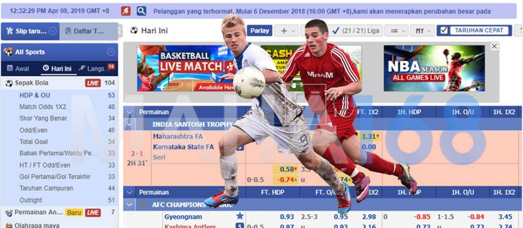 Agen Judi Online Bola Terbesar di Indonesia